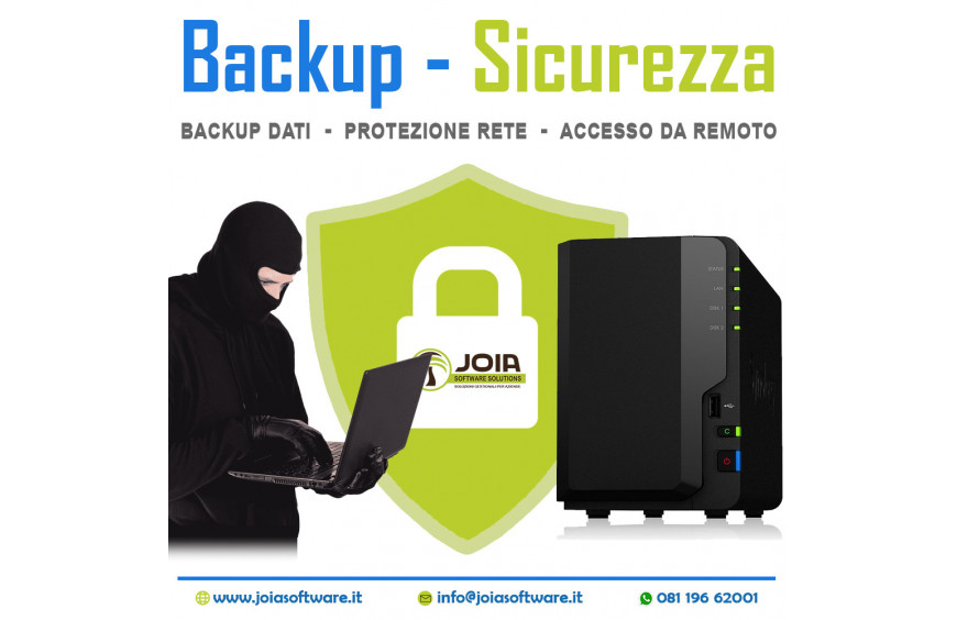 NAS: Backup & Sicurezza