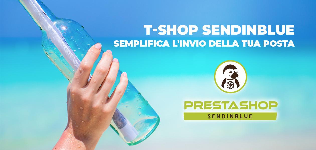 SendinBlue e Prestashop con T-Shop
